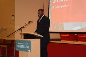 Jeff Frederick at Finish Line Grant Symposium